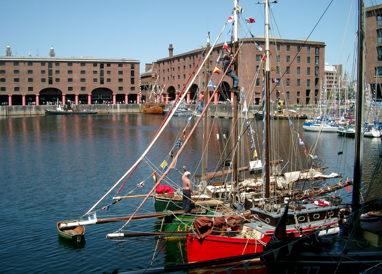 REINVENTING THE ALBERT DOCK